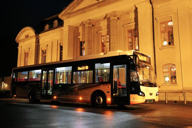 Juni blev en stark månad för VDL när det gäller bussregistreringarna i Sverge. 28 nya VDL-bussar, flertalet v dem 12-meters VDL Cite, registrerades. Foto: Ulo Maasing.
