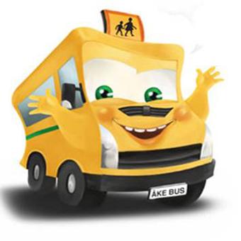 Åke Bus på väg till Värmlandsskolor.