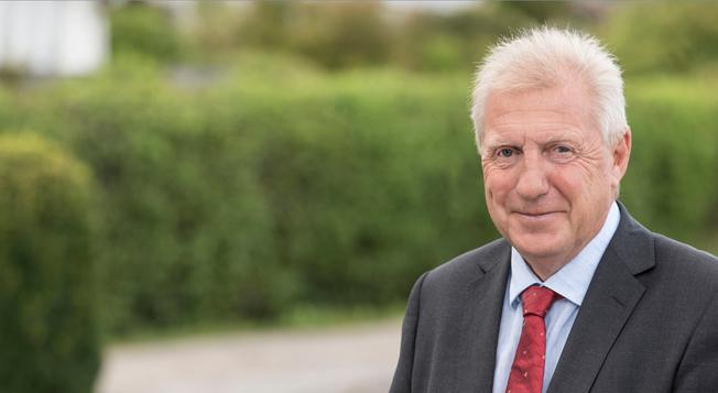 Olof Bentén går i pension efter närmare 40 år i bussbranschen.