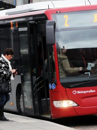 Blekingetrafiken har sålt dubbelt så många sommarkort som man hade väntat sig. Foto: Ulo Maasing.