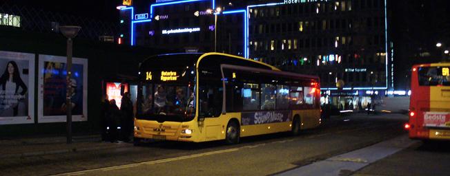 Det kan bli stopp i Köpenhamn för alla bussar och lastbilar som inte klarar Euro 6-kraven. Foto: Leif Jørgensen/Wikimedia Commons.