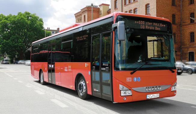 Iveco ska leverera ytterligare flera hundra Crosway till DB Regio Bus i Tyskland. Foto: Iveco Bus.