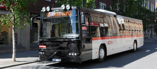 Snart försvinner kontanthanteringen på bussarna i Jämtland.Foto: Ulo Maasing.