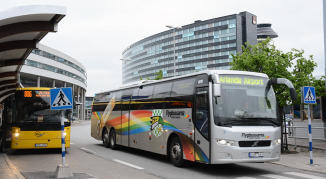 Flygbussarna är den största verksamheten inom Merresor. Foto: Ulo Maasing.