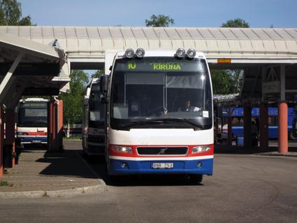 Bussarna i Norrbotten blir kontantfria den 1 september. Foto: Ulo Maasing.
