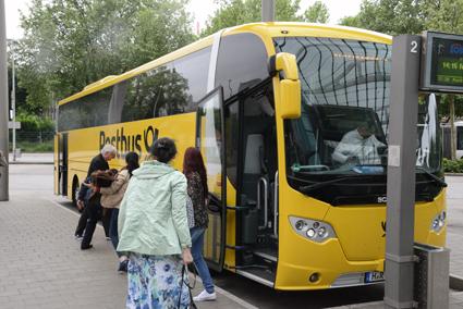 Den tyska postens expressbussföretg Postbus…