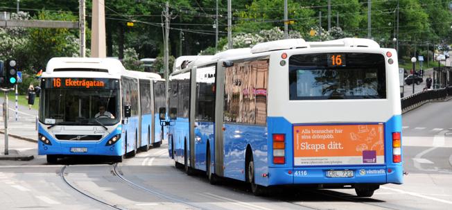 Närhet till bra kollektivtrafik -r den viktigaste enskilda faktorn när bostadsköpare väljer läge. Allra helst vill man ha bra busstrafik. Foto: Ulo Maasing.