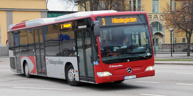 Det ska bli mer drag oftare i stadstrafiken i Karlskrona. Foto: Ulo Maasing.