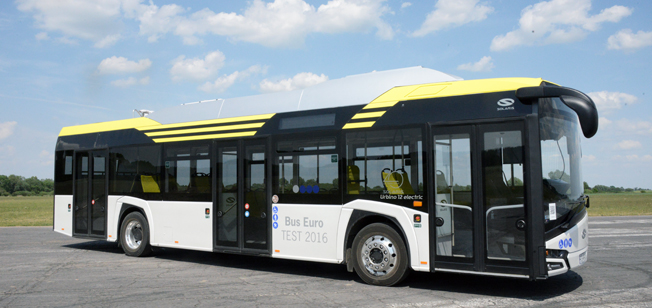 Solaris Urbino electric – Bus of the Year 2017. Foto: Ulo Maasing.