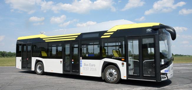 Solaris Urbino electric – Bus of the Year 2017. Foto: Ulo Maasing.