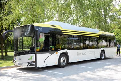 Solaris Urbino electric bygger på tadsbussen Solaris Urbino. Foto: Ulo Maasing.