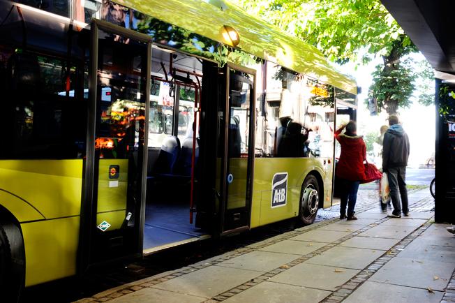 Trondheim satsar på superbussar för att hejda tillväxten i biltrafiken. Foto: ATB.