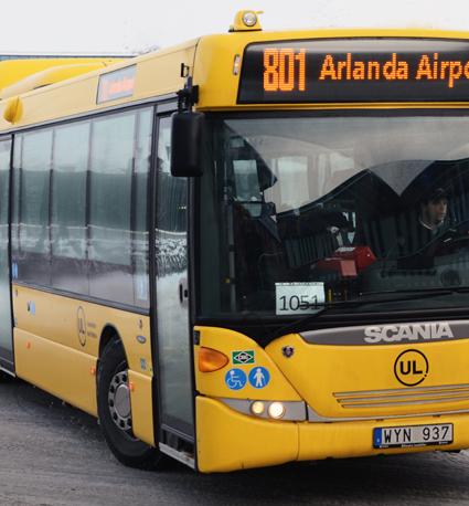Pengarna talar. Det kan åter bli reklam på bussar och tåg i Uppland. Foto: Ulo MAasing.