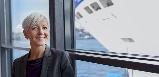 Birka Cruises´ vd Satu Andersson kan blicka tillbaka på en rekordsommar för rederiet. Foto: Birka Cruises.