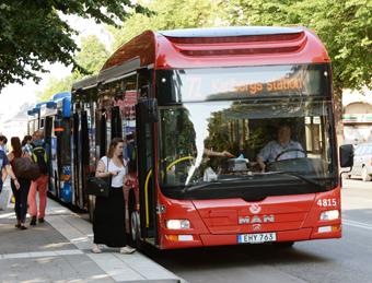 Kommunikationsbyrån Ellermore ska locka fler att resa med Keolis´ busstrafik i Stockholm. Foto: Ulo Maasing.