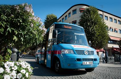 Flextrafiken i Örebro utvidgades på måndagen.