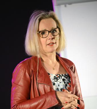 Anna Grönlund, Sveriges Bussföretag, avslöjade att staten kan komma att ersätta transportföretagen för ID-kontrollerna. Foto: Ulo Maasing.