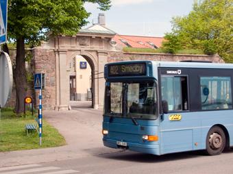 Bussens Dag i Kalmar ska locka potentiella bussförare. Foto: Kalmar kommun.