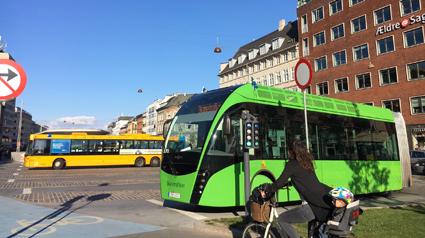 MalmöExpressen i Köpenhamn. Foto: Nobina.