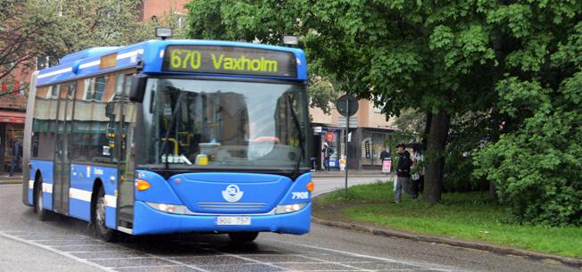 Den 27 september klubbar trafikpåolitikerna i Storstockholm enhetstaxa för enkelbiljetter i hela Stockholms län. Foto: Ulo Maasing.