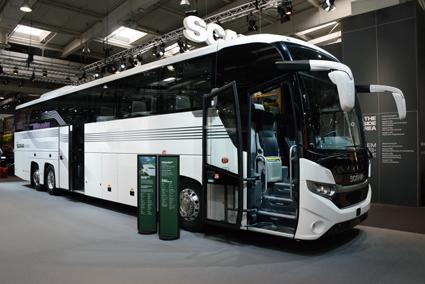 I Scaniamontern finns även en höggolvs Interlink. Foto: Ulo Maasing.