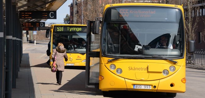 Skånetrafiken ska göra om sitt betal- och biljettsystem. Dagens 200 zoner blir tre. Foto: Ulo Maasing.