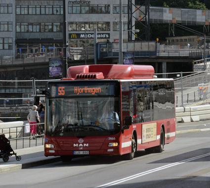 Dominerar resandet med kollektivtrafik i Stockholms län. Foto: Ulo Maasing.