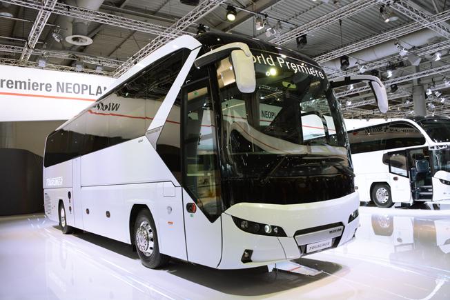 Neoplans nya Tourliner debuterar på IAA-mässan i Hannover. Foto: Ulo MAasing.