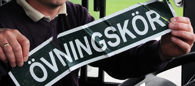 Upphandlingstvist stoppar bussförarutbildning. Foto: Ulo MAasing.