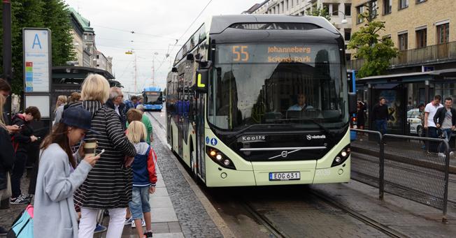Bussresandet i Västsverige har hittills i år ökat mycket kraftigt. Foto: Ulo Maasing.