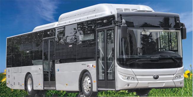 Yutongs elbuss E12 får Sverigepremiär på Persontrafikmässan i Göteborg i oktober. Bild: Yutong.