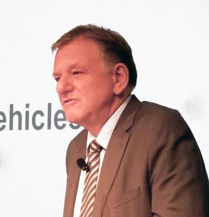 Andreas Renschler, vd Volkswagen Truck & Bus: Klart hur MAN och Scania ska arbeta tillsammans. Foto: Ulo Maasing.