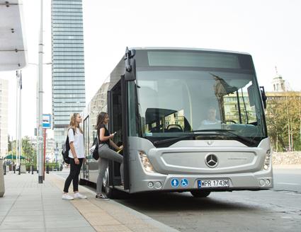 Mercedes-Benz lanserade nyligen en ny generation av stadsbussen Conecto. Foto: Daimler Buses.