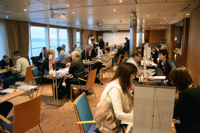 Tyska turistbyråns nordeuropaworkshop hölls i år för trettionde året i rad. Foto: Ulo Maasing.
