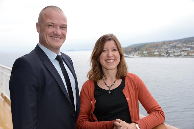 Tyska turistbyråns nordeuropachef Bo Schou Lauridsen och Stockholmschef Iris Müller fanns naturligtvis på plats.