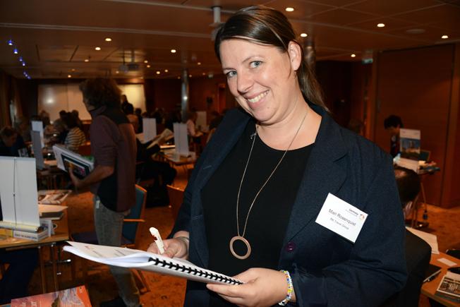 Mari Rosenquist fanns på plats för RK Travel Group.