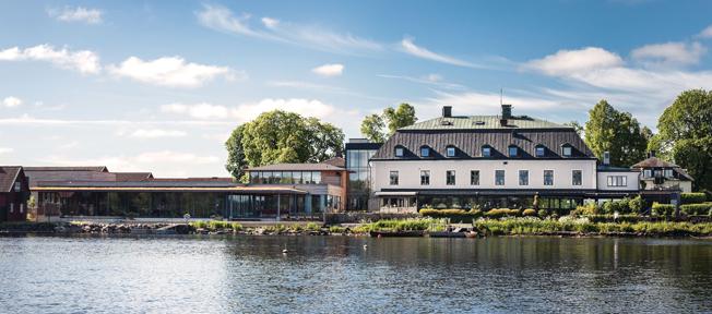 Hooks Herrgård blir platsen för Busstorget 2017 som äger rum den 6 – 7 april. Foto: Hooks Herrgård.