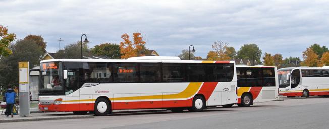 Minst 80 procent av regionbussarna i Jönköpings län ska 2020 köras på förnyelsebara drivmedel. Foto: Ulo MAasing.