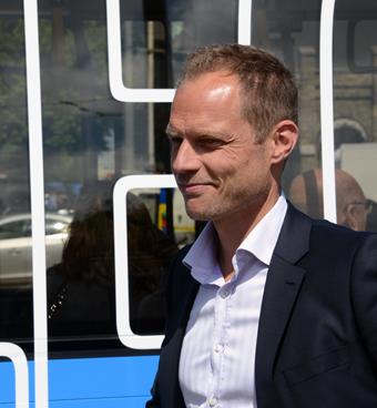 Västtrafiks vd Lars Backström. Foto: Ulo Maasing.