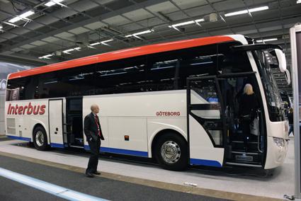 Interbus är också köpare av denna Temsa HD. Foto: Ulo Maasing.