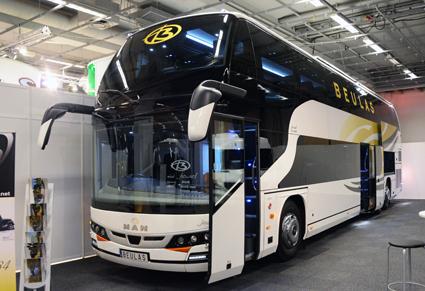 Skeppsbrons Buss debuterade som svensk representant för Beulas och visade en Beulas Jewel. Foto: Ulo Maasing.