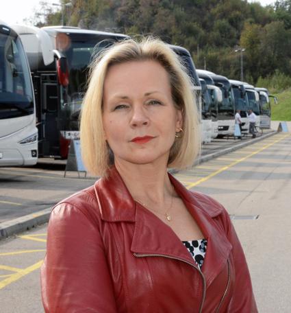 """Anna Grönlund, branschchef och vice vd på Sveriges Bussföretag: """"Det är bekymmersamt att en trafik som skulle kunna ge landets kollektivtrafikresenärer ett ökat utbud inte tas tillvara"""". Foto: Ulo Maasing."""