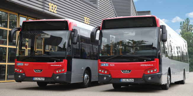 VDL har fått en order på 80 Citea LLE från tyska Rheinbahn. Foto: VDL.
