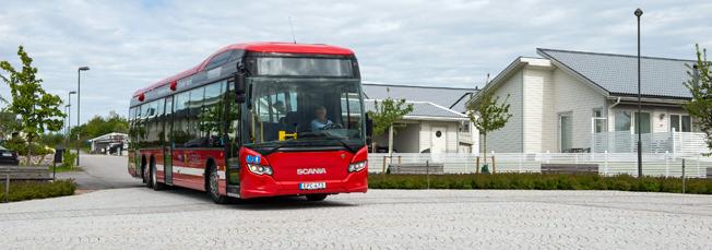 Scania toppade bussregistreringarna under september. Foto: Scania.