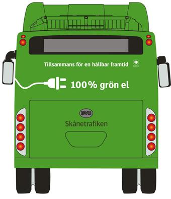 Mer elbussar i städerna siktar Skånetrafiken på.