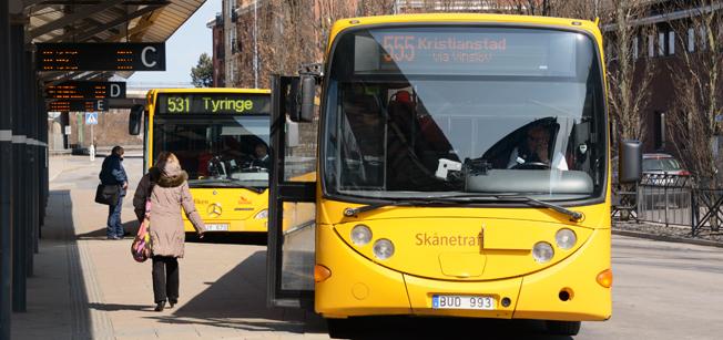I Skåne ska varje resenär få sin egen zon. Foto: Ulo Maasing.