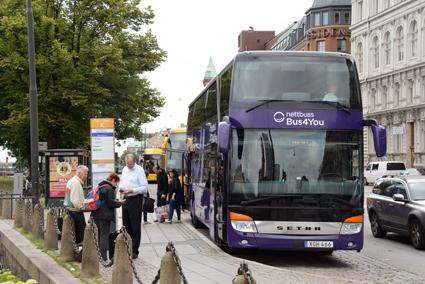 Nettbuss Travel och *S'iljan Buss har klassats som superföretag av Veckans Affärer. Foto: Ulo Maasing.
