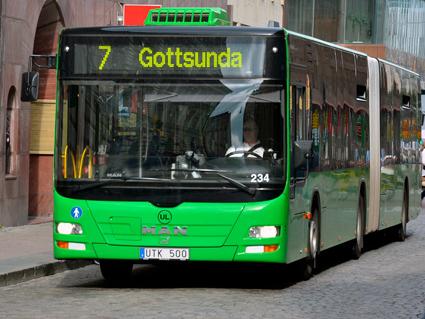 Kollektivtrafikförvaltningen UL går från analog kommunikation till Rakel.