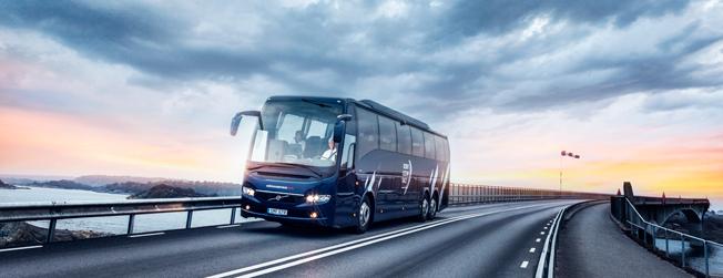 Volvo Bussar minskade sin omsättning under det tredje kvartalet. Foto: Volvo.