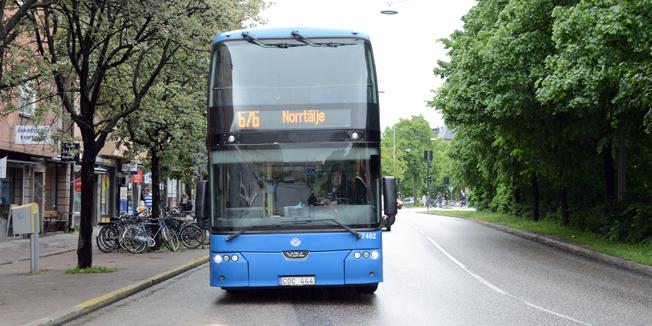 Snart kostar en enkelbiljett mellan exempelvis Stockholm och Norrtälje lika mycket som en biljett mellan Stureplan och Norrmalmstorg. Foto: Ulo Maasing.